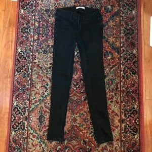 Black hollister skinny jeans 1s